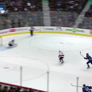 Cory Schneider Save on Kevin Bieksa (17:18/1st)