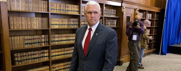 Indiana governor's history on gay rights issues