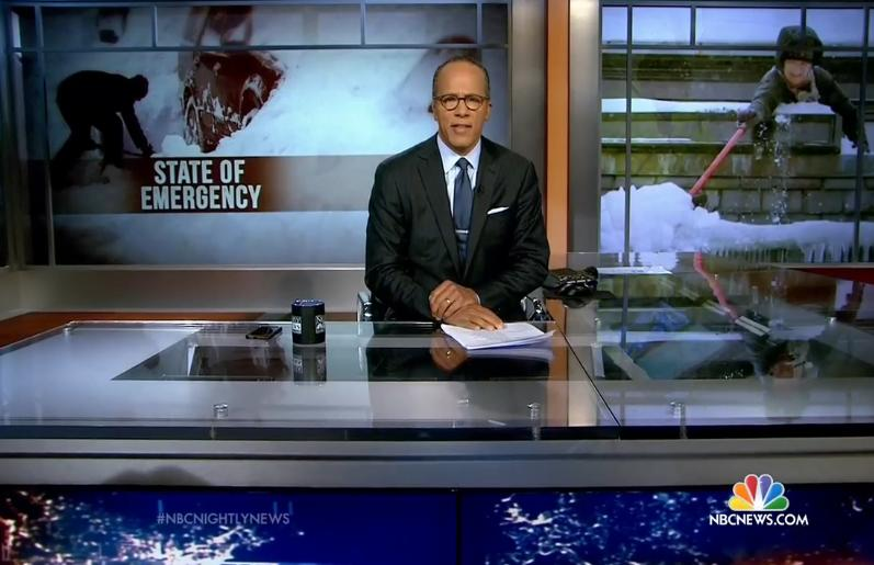 Lester Holt Returns To 'NBC Nightly News' Tonight
