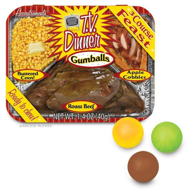 TV Dinner Gumballs