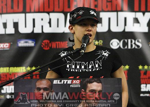 Headlining Invicta FC 2, Shayna Baszler's Gut Check is Paying Dividends