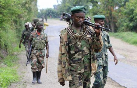 Congo govt says M23 rebel fighters cross over border from Uganda