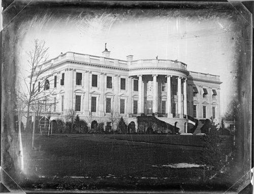 Here's The First Known Photo of the White House