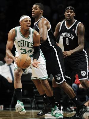 Celtics ruin Nets' return to national TV, 115-85