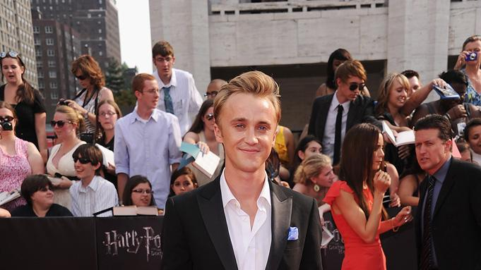 Harry Potter and the Deathly Hallows NY Premiere 2011 Tom Felton