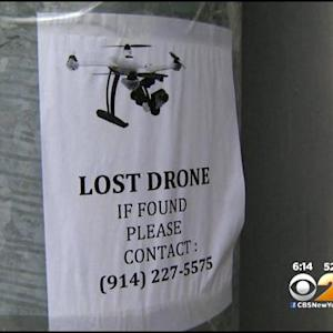 Man Searching For Lost Drone