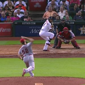 Shoemaker's seventh strikeout