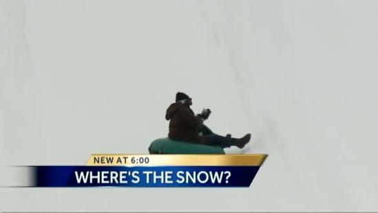 Lack of natural snow hurts skiiers, snowmobilers