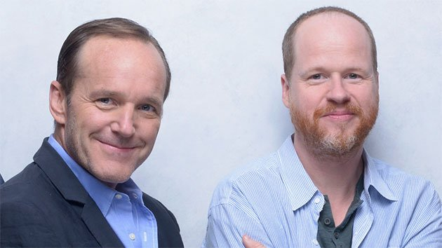 Clark Gregg and Joss Whedon