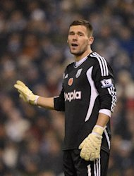 West Brom goalkeeper Ben Foster is struggling with a groin injury