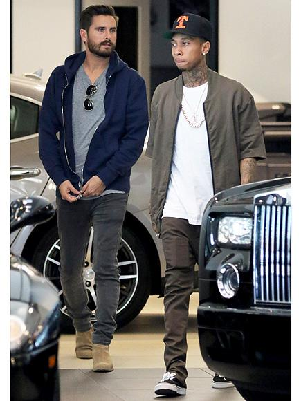The Bromance Continues! Scott Disick Supports Tyga During His Las Vegas Concert