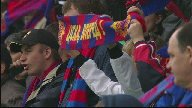 CSKA Moscow close in on title