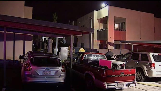 Six People Hurt In Oceanside Apartment Fire