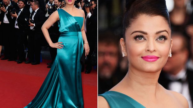 Aishwarya's blue magic at Cannes