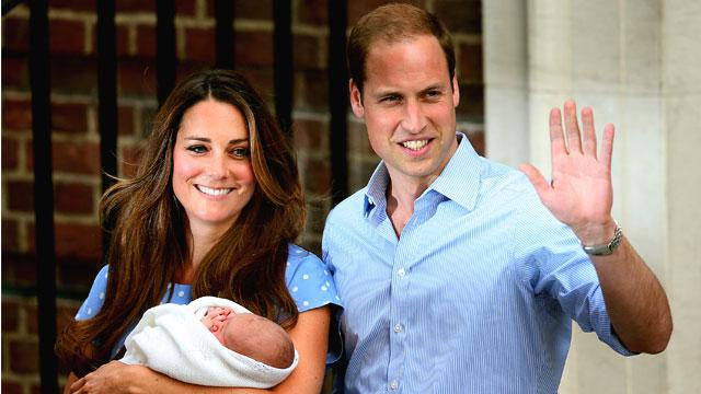 Prince William & Kate Name the Royal Baby