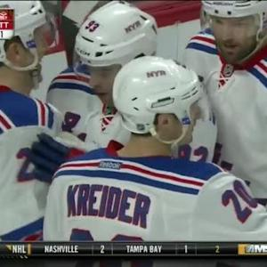 Chris Kreider Goal on Andrew Hammond (19:00/1st)