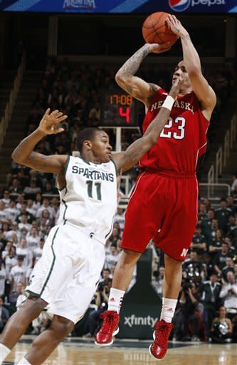 Green-led No. 6 Michigan State tops Nebraska 62-34
