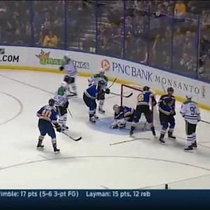 Jake Allen Save on Trevor Daley (15:38/2nd)