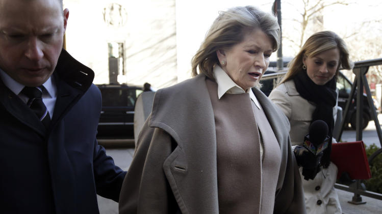 Martha Stewart denies wrongdoing in Penney deal