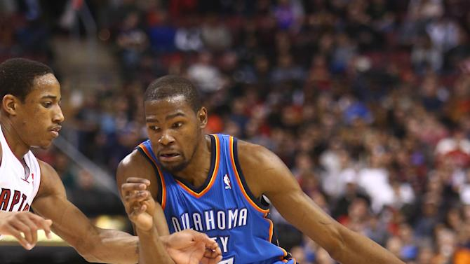 NBA: Oklahoma City Thunder at Toronto Raptors