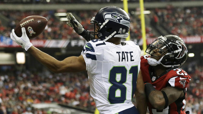 Wilson, Lynch lead Seahawks past Falcons 33-10