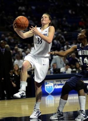 No. 10 Penn State women throttle Georgetown 97-74