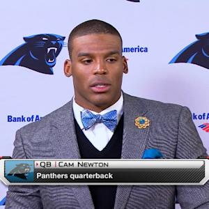 Carolina Panthers postgame press conference