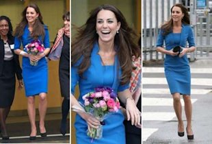 Kate Middleton on Valentine's Day