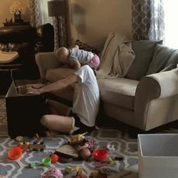 Too-Real Video Shows What Happens 'When Toddlers Interrupt'