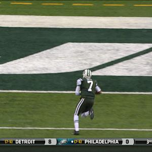 New York Jets quarterback Geno Smith 8-yard touchdown run