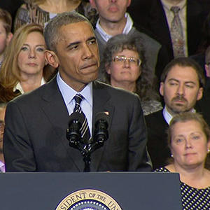 Obama: No Excuse for Destructive Ferguson Acts