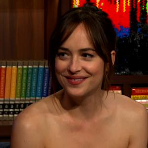 Dakota Johnson Thinks Jamie Dornan Should Have to Get as Naked as Her in Next '50 Shades' Film