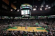 The Philadelphia 76ers and the Boston Celtics during game seven of their NBA Eastern Conference second-round series on May 26. The Celtics won 85-75