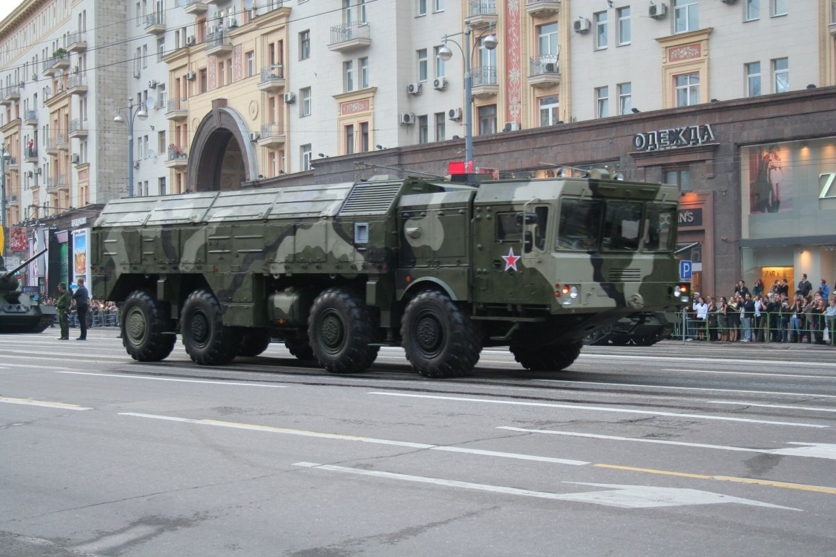 9K720 Iskander russian ground-launched cruise missile