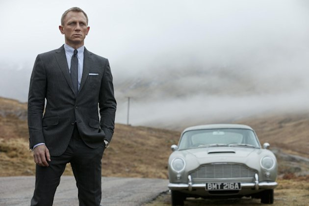 FILE - This film image released by Columbia Pictures shows Daniel Craig as James Bond in the action adventure film,