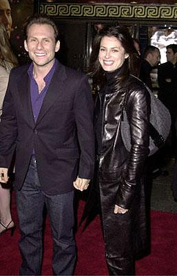 Christian Slater and his wife Ryan at the Hollywood premiere of Universal's The Family Man