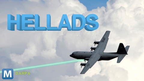 DARPA Plans Kilowatt-class Lasers for More and Smaller Aircraft