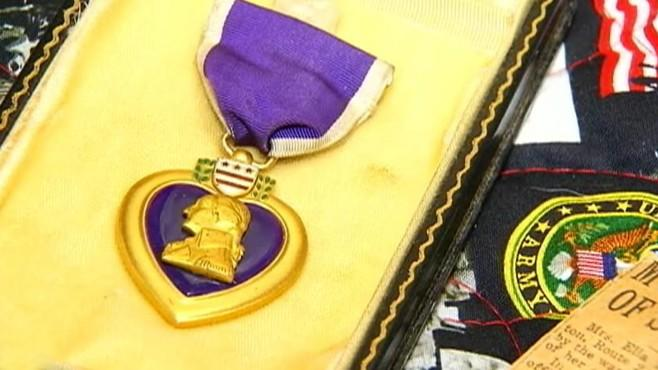 Quilt Maker Ends Purple Heart Military Mystery