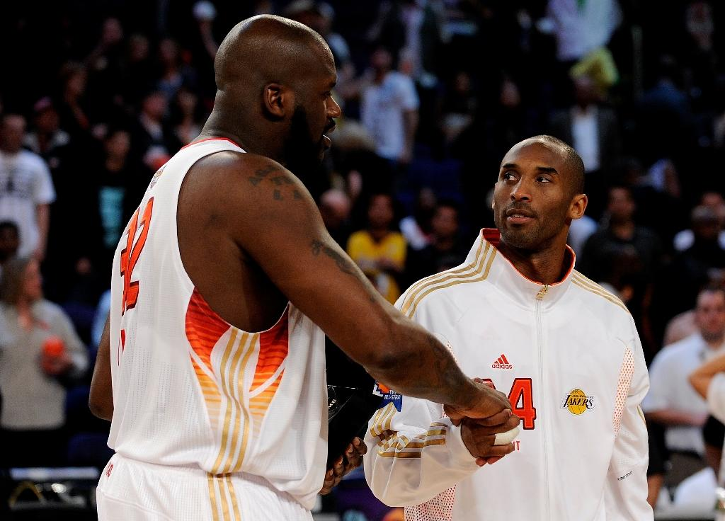 Kobe, Shaq bury hatchet over legendary feud