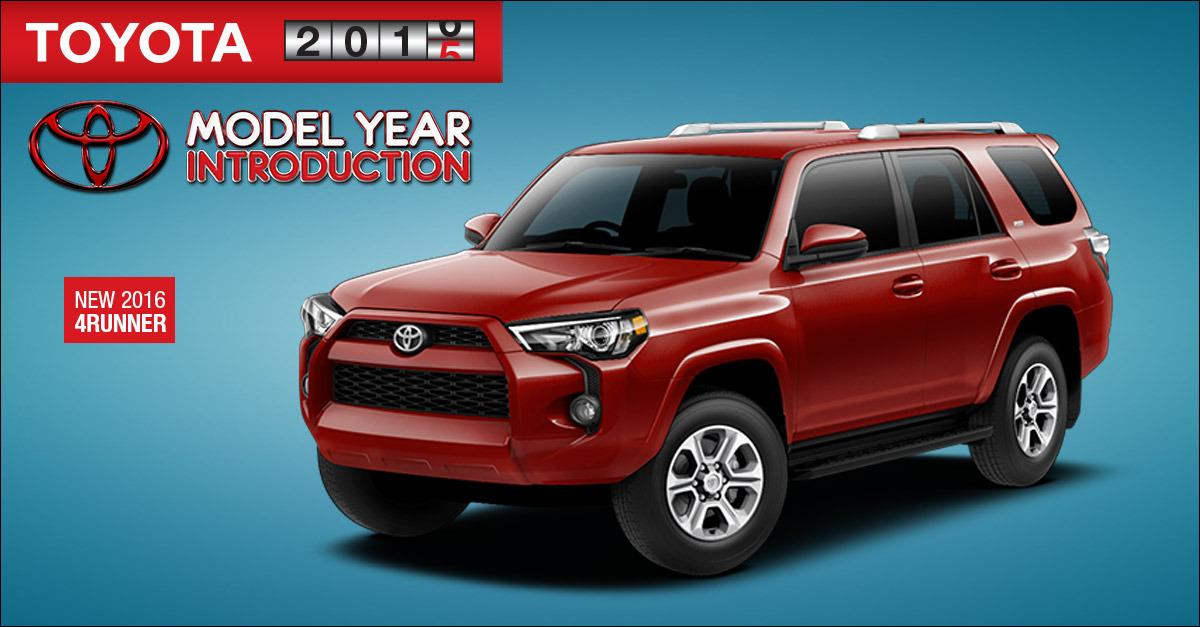 Checkout the New Look of the 2016 4Runner