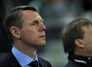 England interim manager Stuart Pearce, pictured here on February 29, is convinced his country can thrive at Euro 2012 even though they are without a permanent boss less than two months before the tournament starts