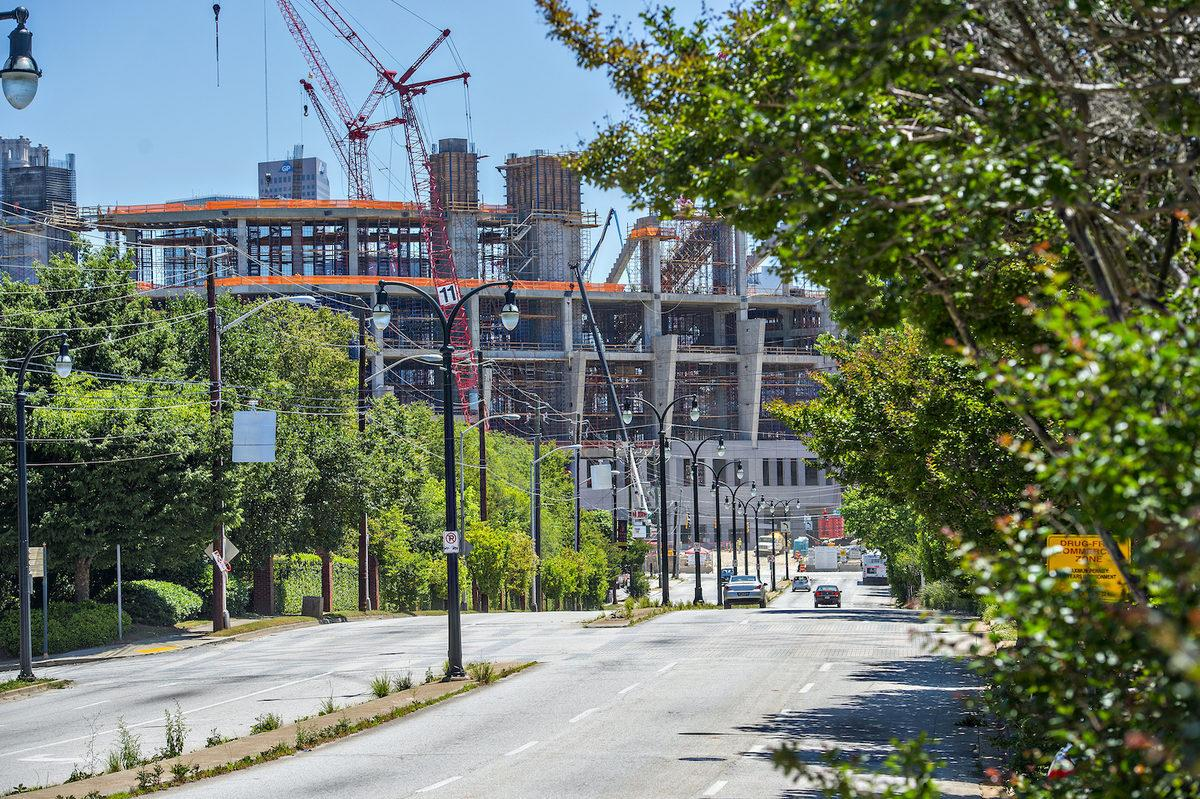 Stadiumwire: From Street Level, New Falcons Stadium is a Game-Changer