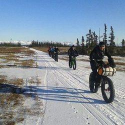 Alaska Fat-tire Cyclist Crushes Iditarod Dog Team Speed Record