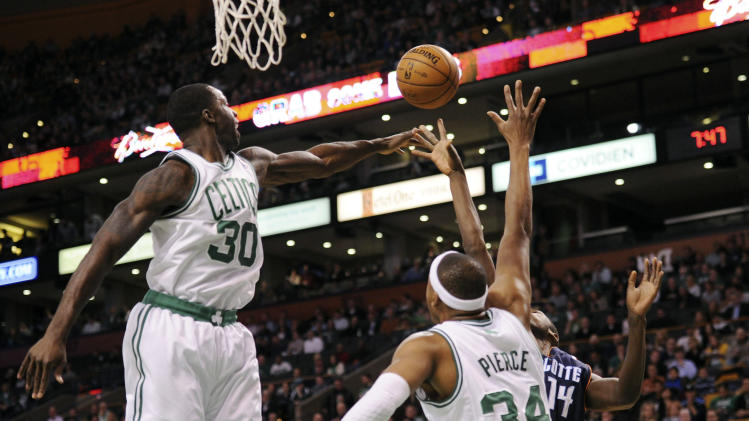 NBA: Charlotte Bobcats at Boston Celtics