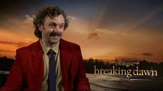 'Twilight' villain Michael Sheen talks finale