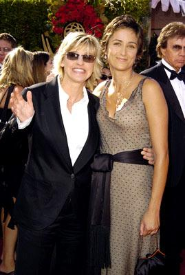Ellen DeGeneres and Alexandra Hedison 56th Annual Emmy Awards - 9/19/2004