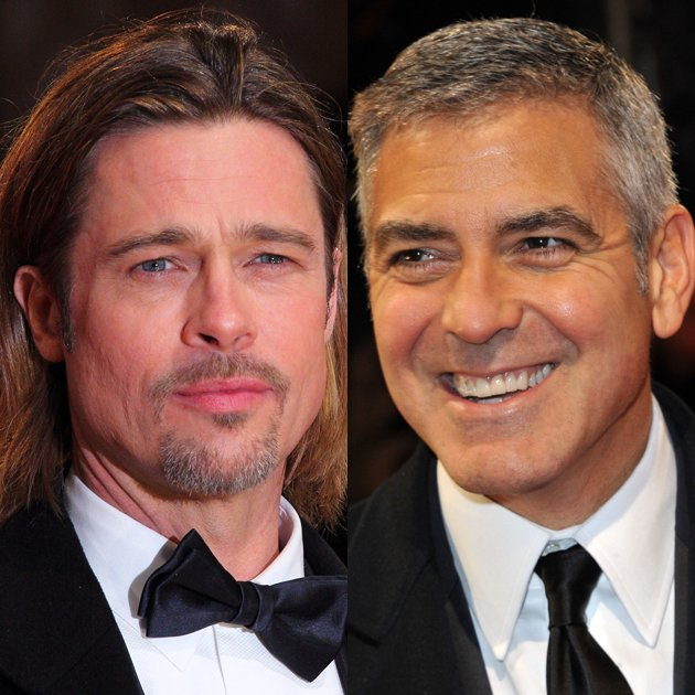 brad-pitt-george-clooney-baftas