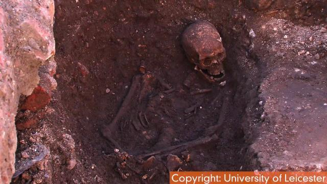 Remains of Britain's King Richard III Found Underneath Parking Lot