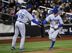 Ellis hits 2 HRs, nicks Niese as Dodgers top Mets
