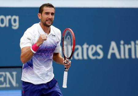 Cilic into U.S. Open third round; Fish takes final bow